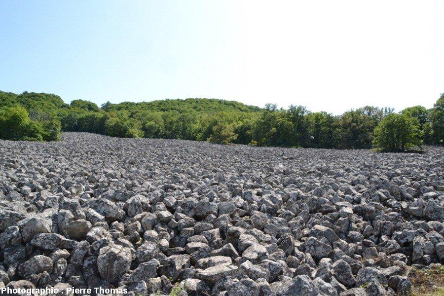 Lassouts (12) : coulée de lave – Clapas de Thubiès