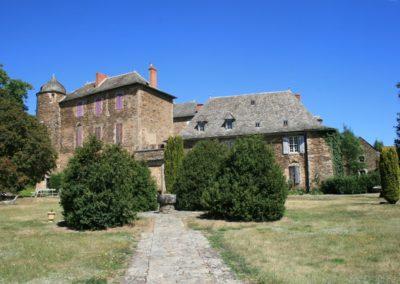 Camjac (12) : Chateau du Bosc : demeure familiale de Toulouse – Lautrec