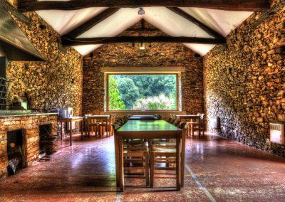 Salle de réception de la bastide d'Albignac Tarn
