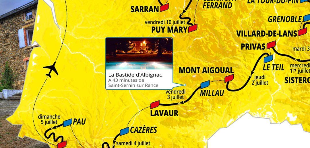 Tour de France 2020 Millau Lavaur