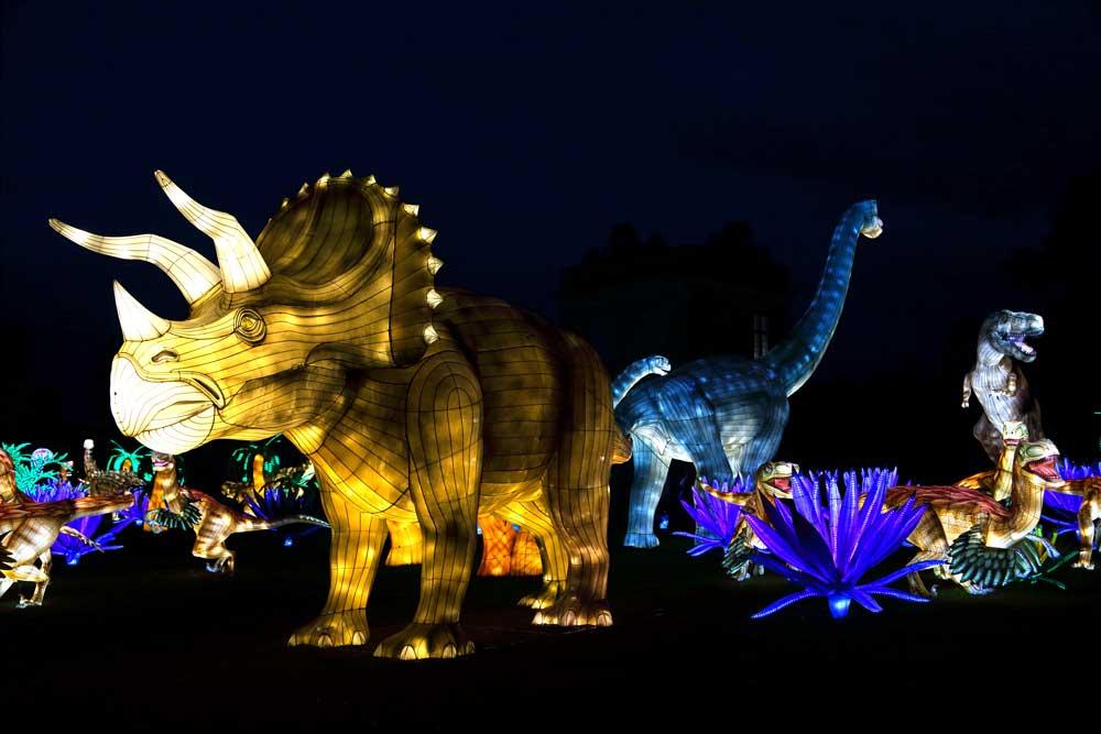 4-Dinos-lanternes_ville-de-Gaillac_Lantern-Group