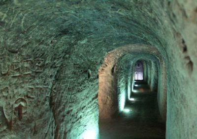 Le souterrain du Castela