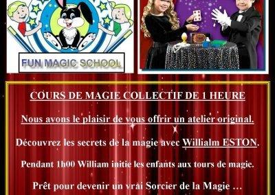 Magic school – Atelier magie pour les enfants de 17h à 18h (gratuit)